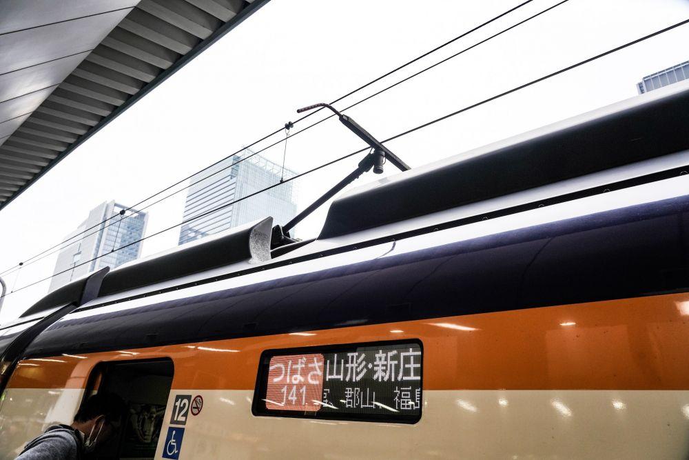 山形新幹線 E3系2000番台 シングルアームパンタグラフ