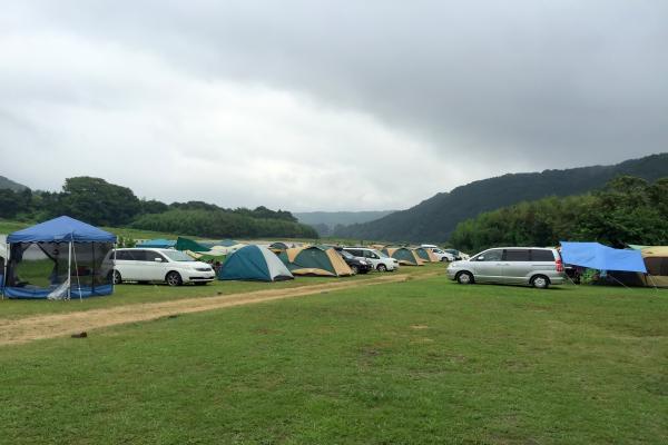オートキャンプ那珂川ステーション オートサイト