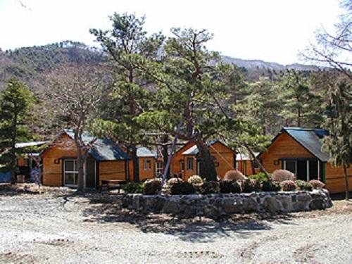 西湖湖畔キャンプ場 施設棟