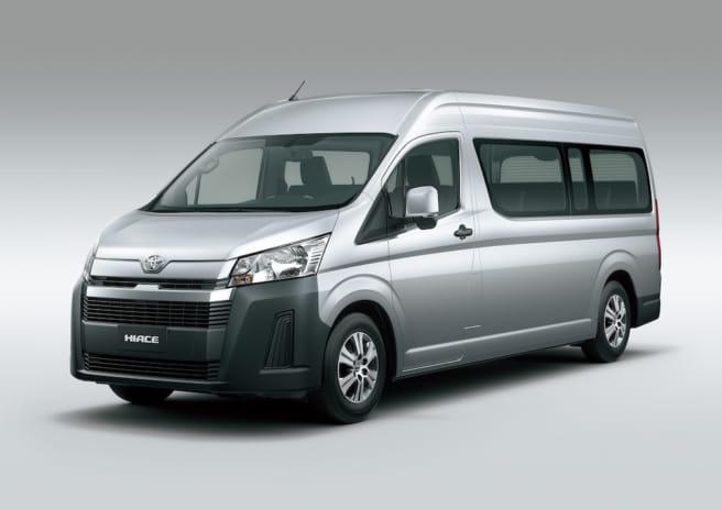 トヨタ 新型ハイエース海外向_2019