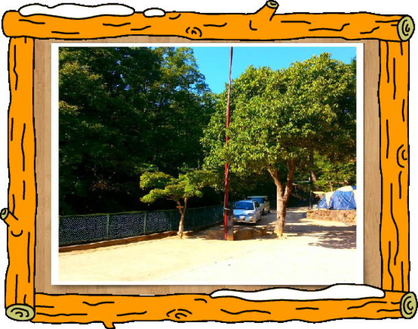 一里松キャンプ場 キャンプサイト