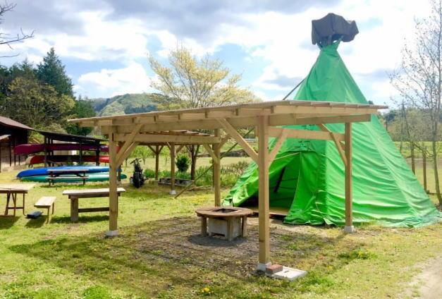 オートキャンプ那珂川ステーション テント