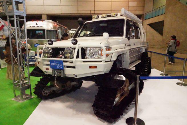 ジャパンキャンピングカーショー2019 エアストリーム ベースキャンプ