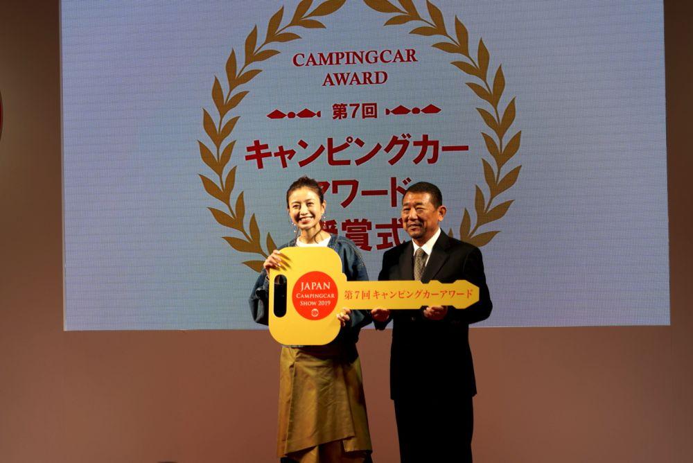 ジャパンキャンピングカーショー2019 片瀬那奈