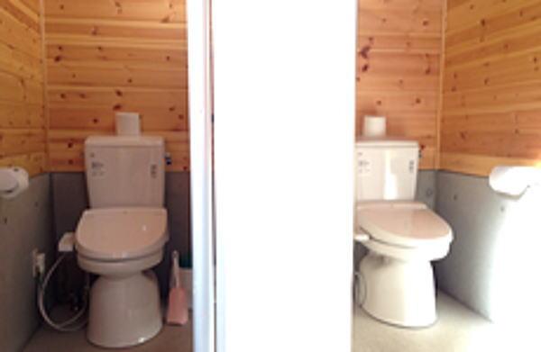 那須たかはらオートキャンプ場 トイレ