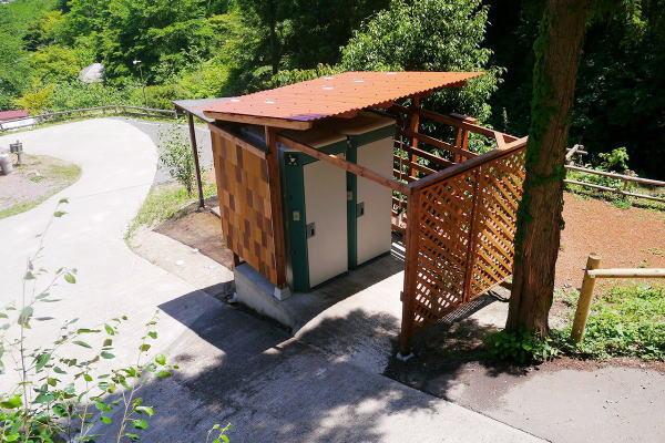 満願ビレッジオートキャンプ場 トイレ