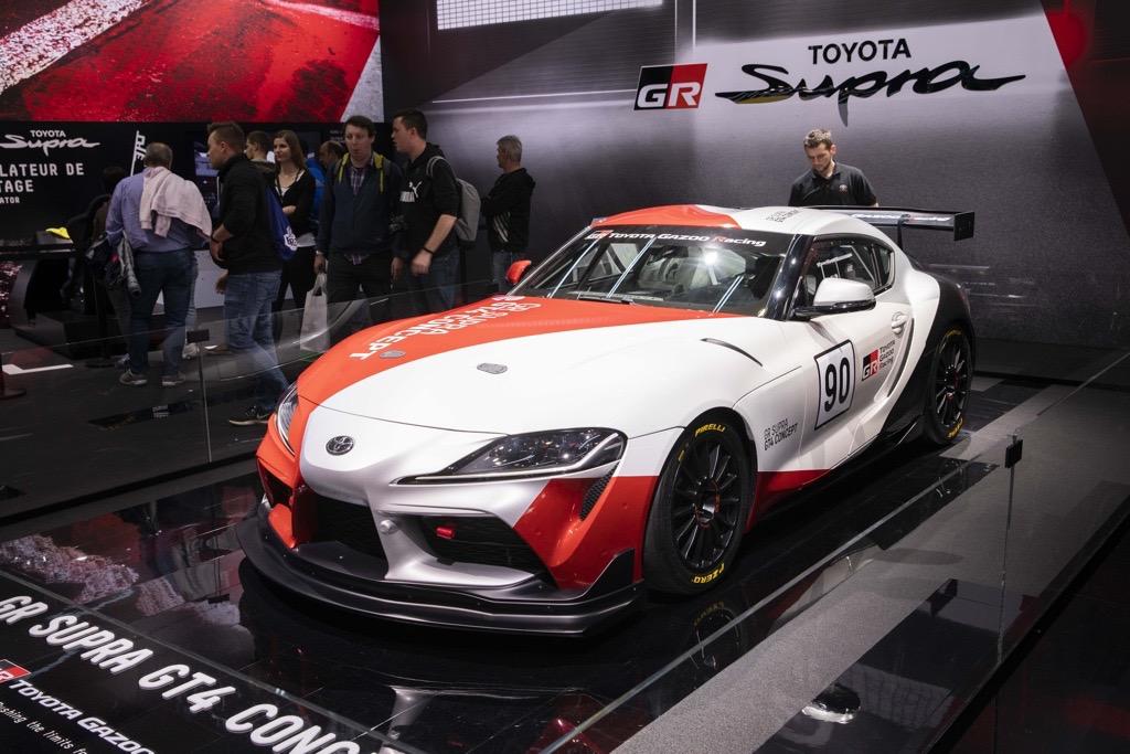 トヨタ スープラ GT4コンセプト ジュネーブモーターショー2019