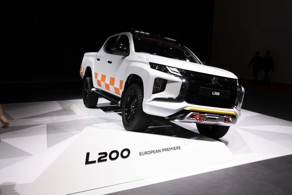 三菱 L200(トライトン)ジュネーブモーターショー)2019