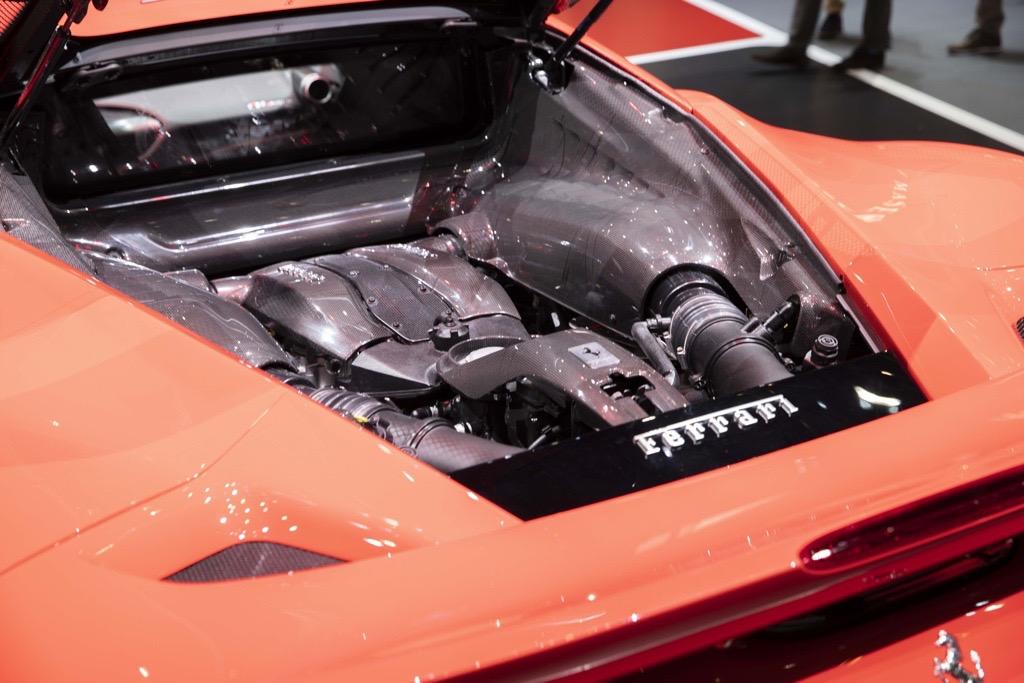 フェラーリ F8トリビュート ジュネーブモーターショー2019