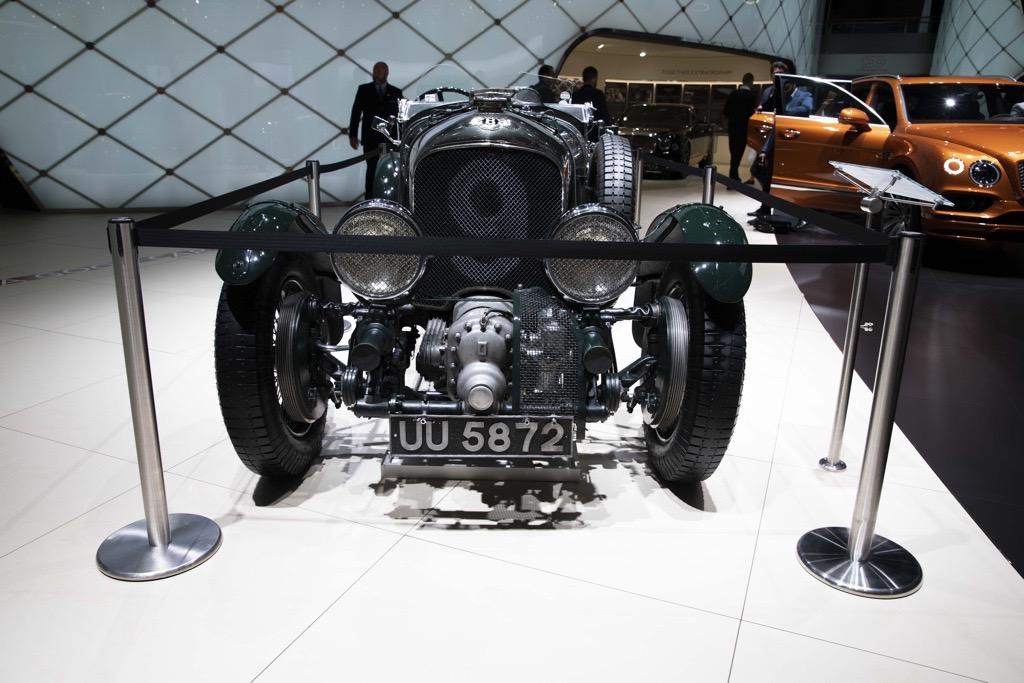 ベントレー 「ブロワー」の9号車(ナンバー9)ジュネーブモーターショー2019