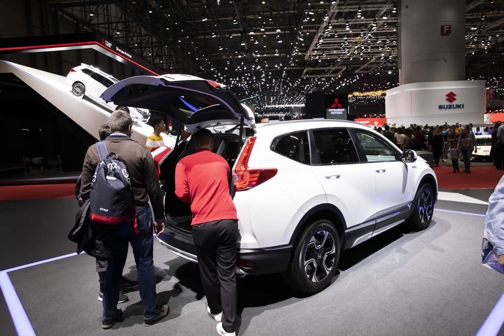 ホンダ CR-V ジュネーブモーターショー2019
