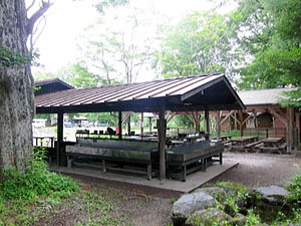 菖蒲ヶ浜キャンプ場 炊事場