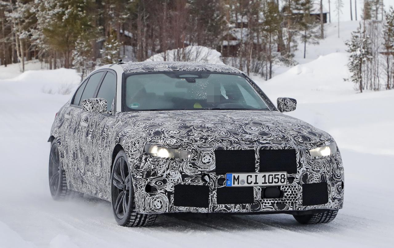 BMW 新型M3_2019