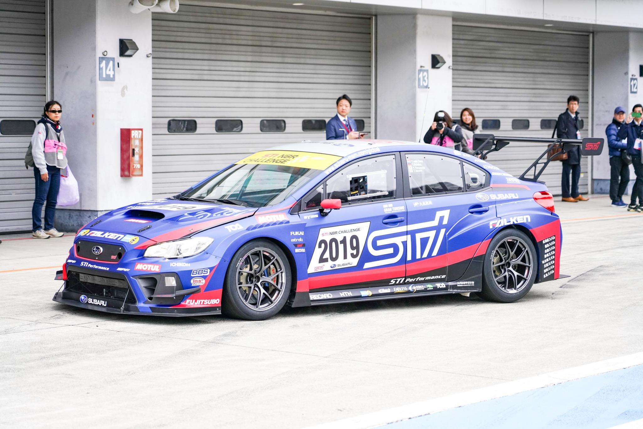 STIモータースポーツデー NBR2019参戦マシン WRX
