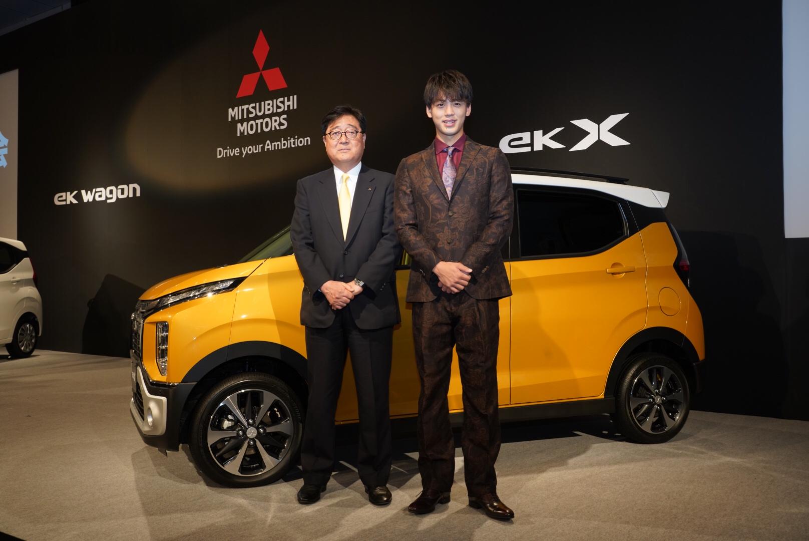 三菱 eKワゴン eKクロス 2019 フルモデルチェンジ発表会