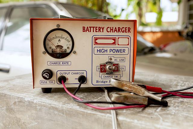 バッテリー充電器イメージ