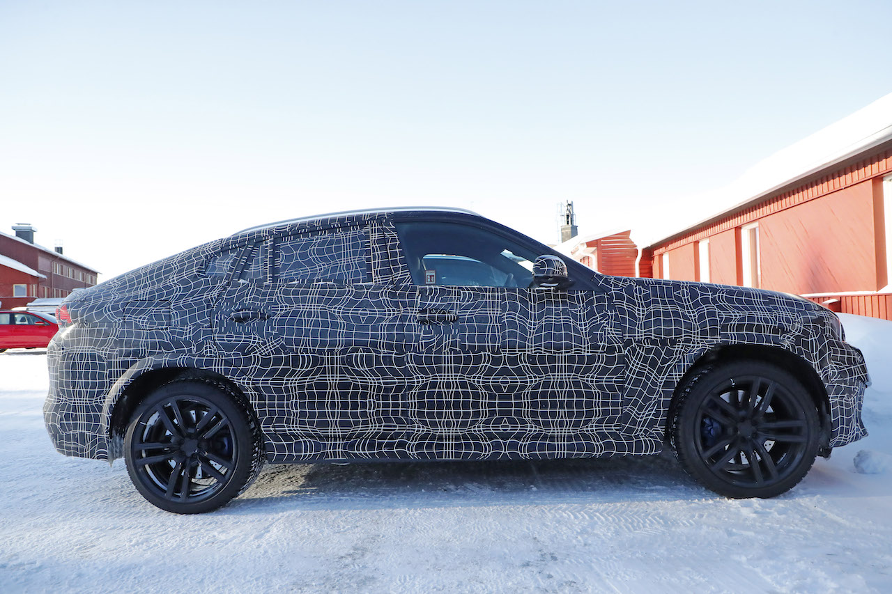 BMW 新型X6 M_2019