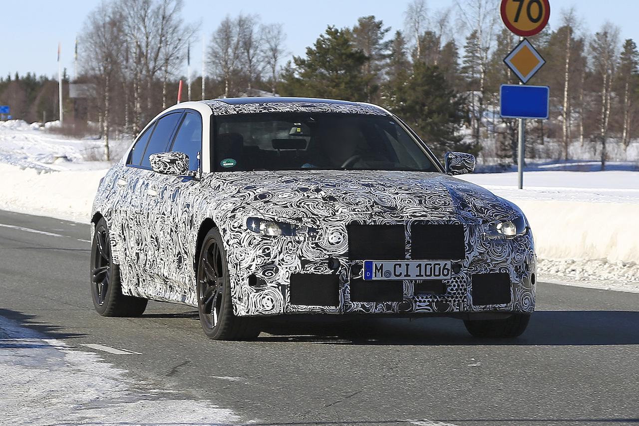 BMW 新型M3_2019/04
