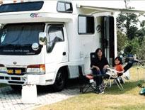 赤穂海浜公園オートキャンプ場 キャンピングカーサイト
