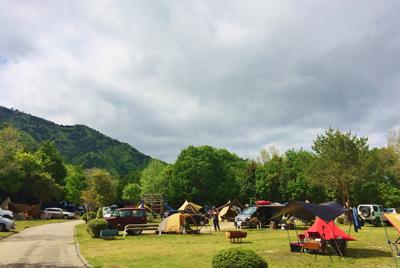 大佐山オートキャンプ場 フリーサイト