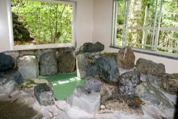 ネイチャーランドオム 岩風呂