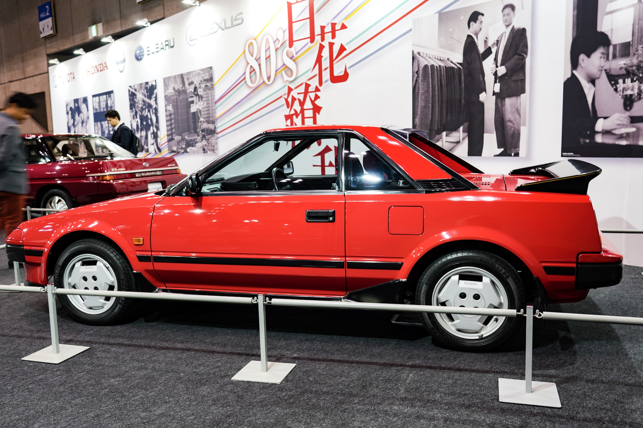 トヨタ MR2 初代AW11型 オートモビルカウンシル2019
