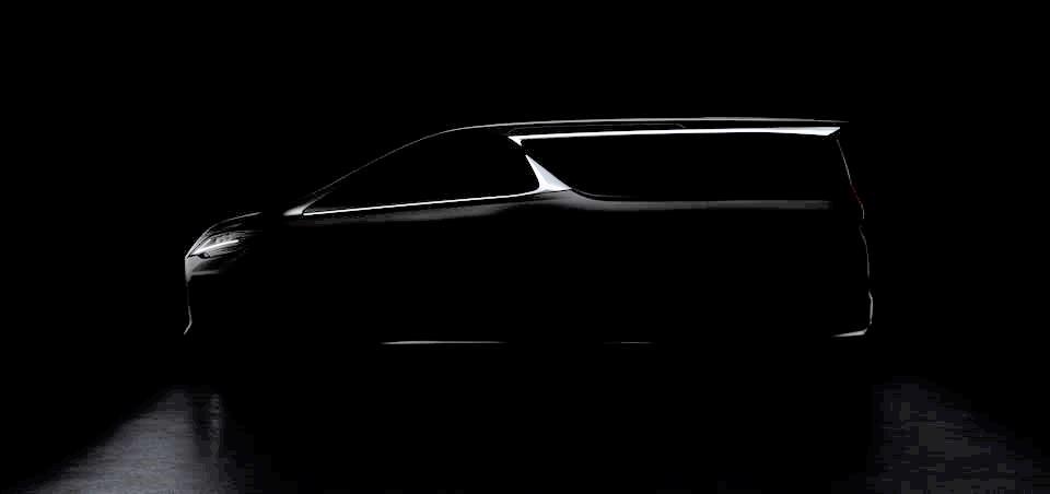 レクサス 新型ミニバン 上海モーターショー ティザーイメージ