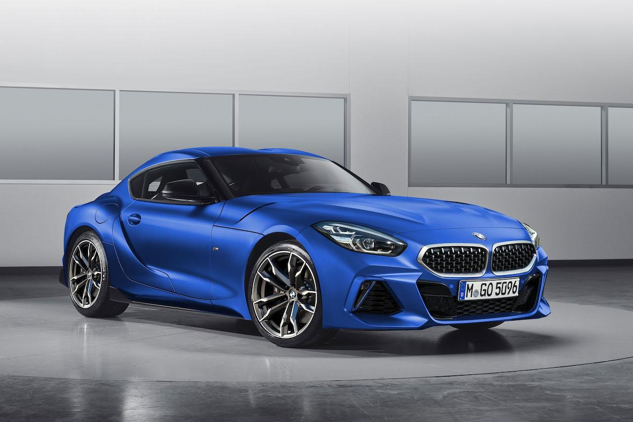 BMW Z4 クーペ 予想CG