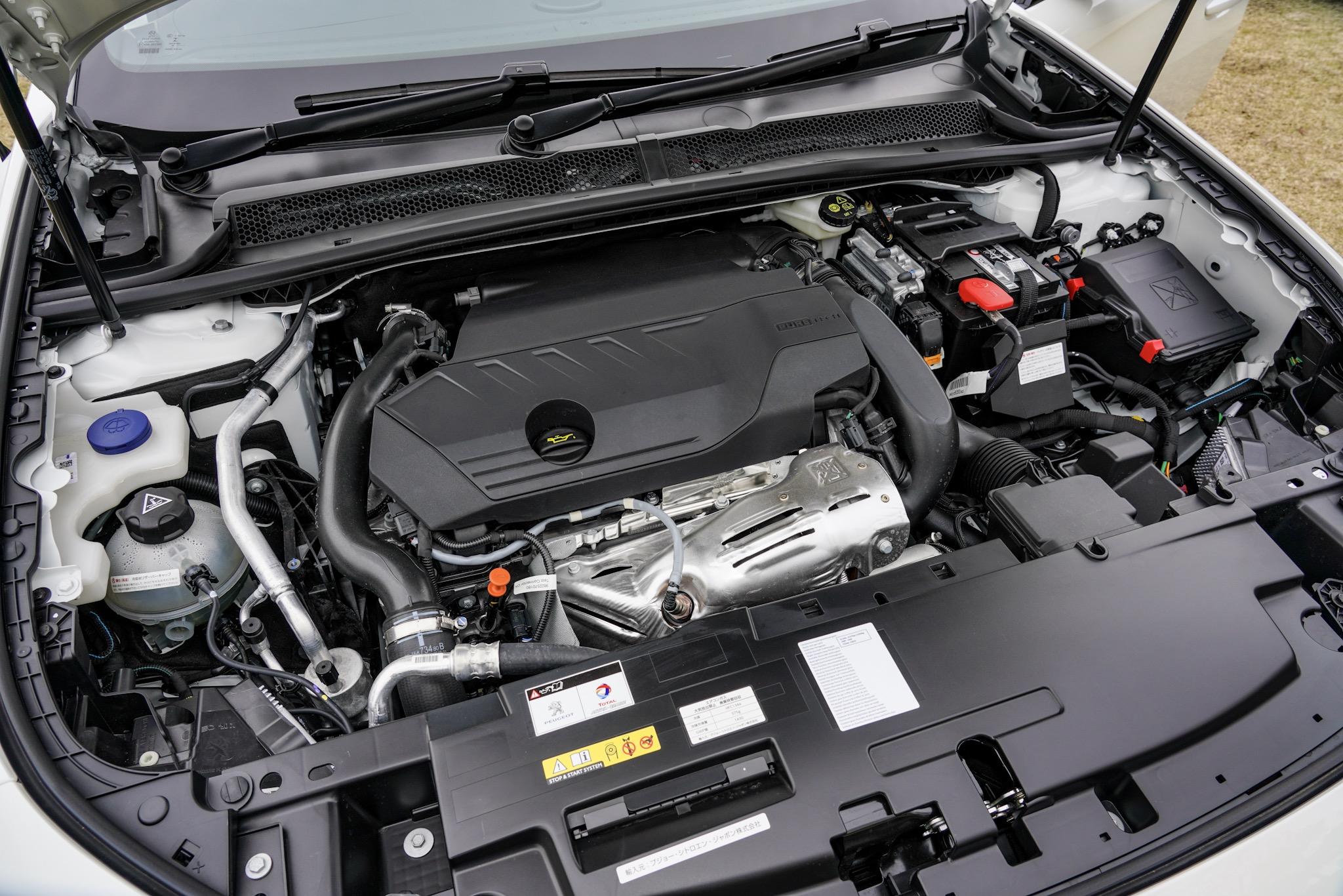 新型プジョー508(2代目) ガソリンエンジン