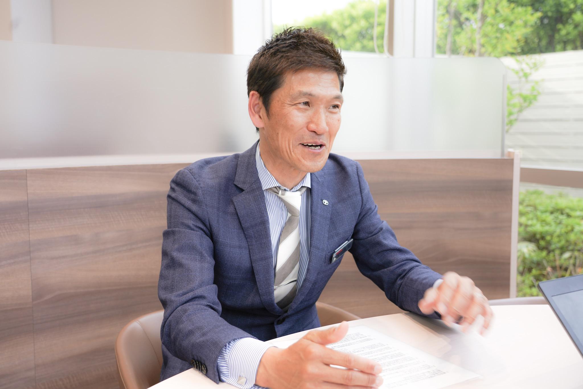 トヨタモビリティ東京葛飾白鳥店 店長 阿部さん