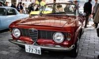 【アルファロメオ ジュリア GTC】総生産台数1,000台の美しい4人乗りオープンカー