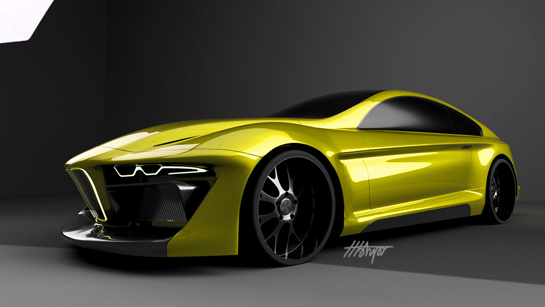 BMW 新型ハイブリッド スーパーカー_2019/04