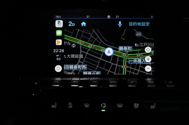 Yahoo!カーナビ Apple CarPlay 目的地設定