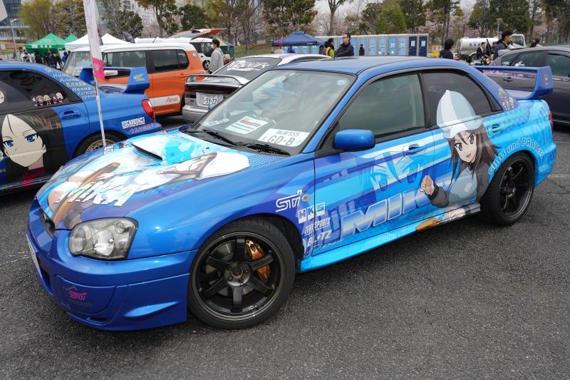 スバル インプレッサ WRX STI 痛車