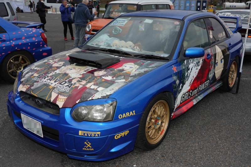 スバル インプレッサ WRX 痛車