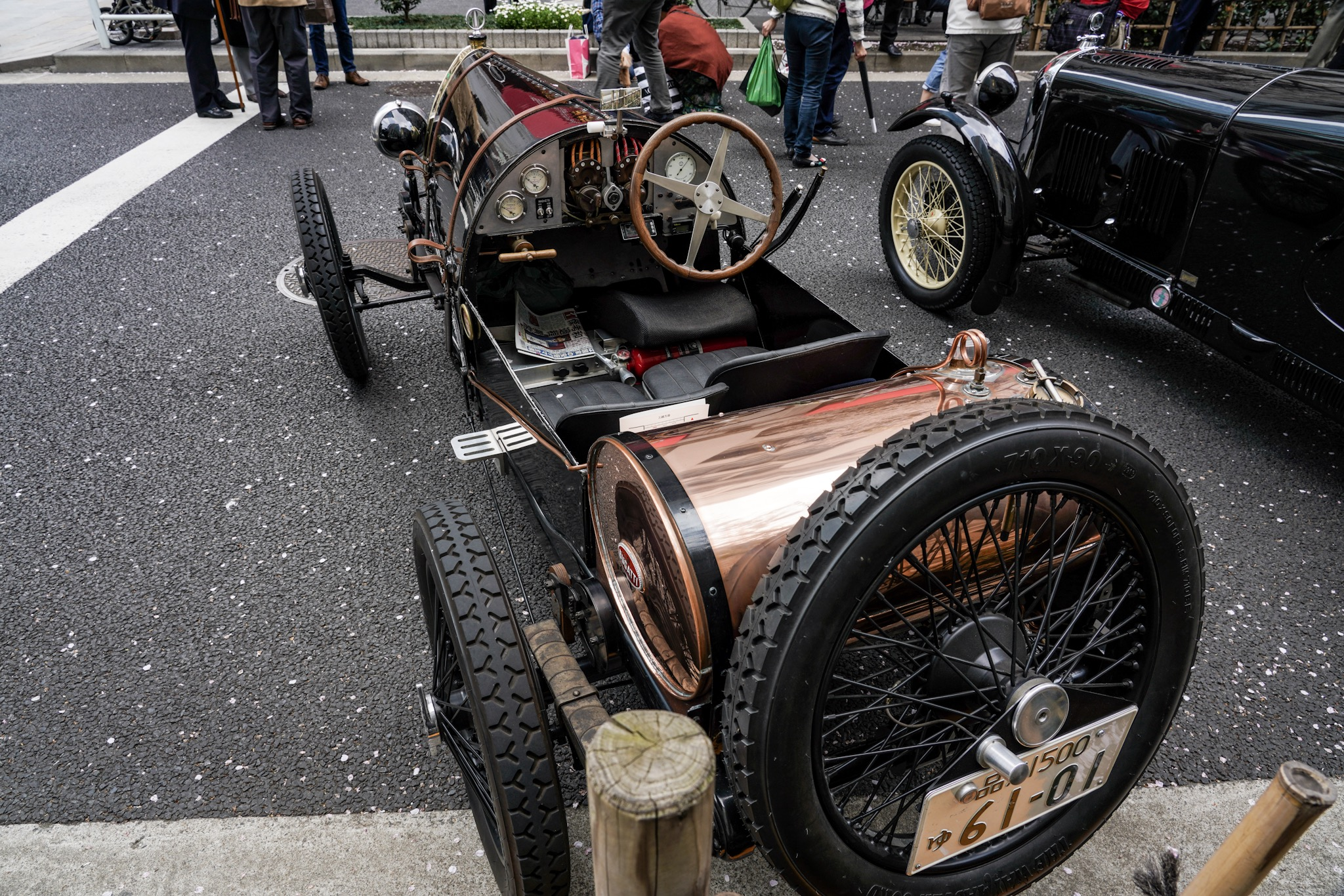 ブガッティ T13 Brescia(1923年)ジャパン・クラシック・オートモービル2019