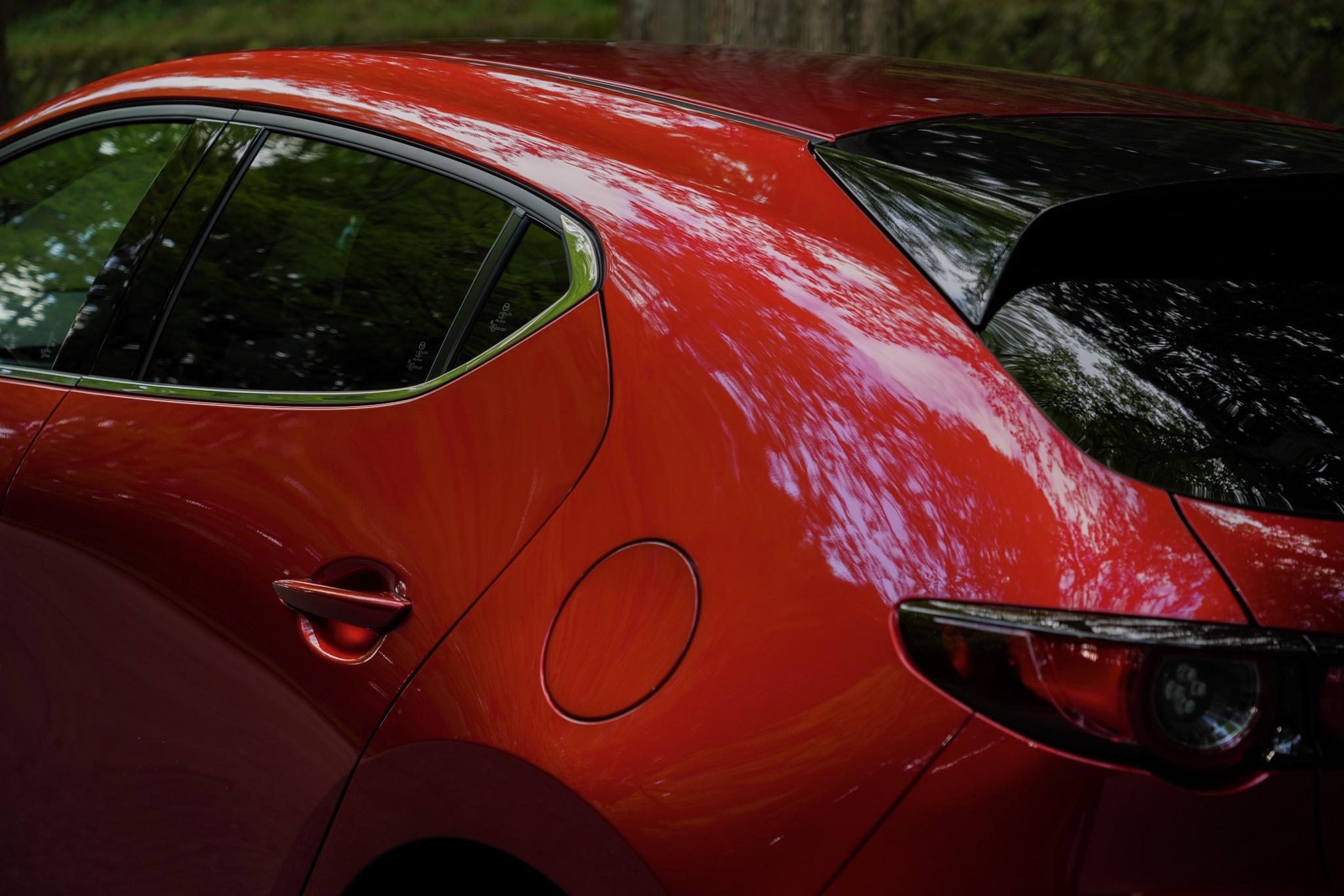 新型Mazda3 ハッチバック