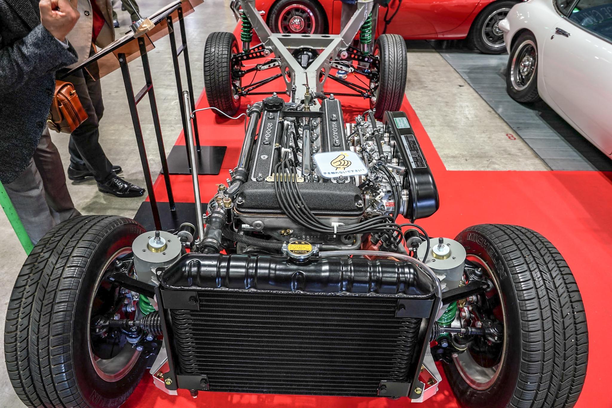 トヨタ 2000GT エンジン フレーム