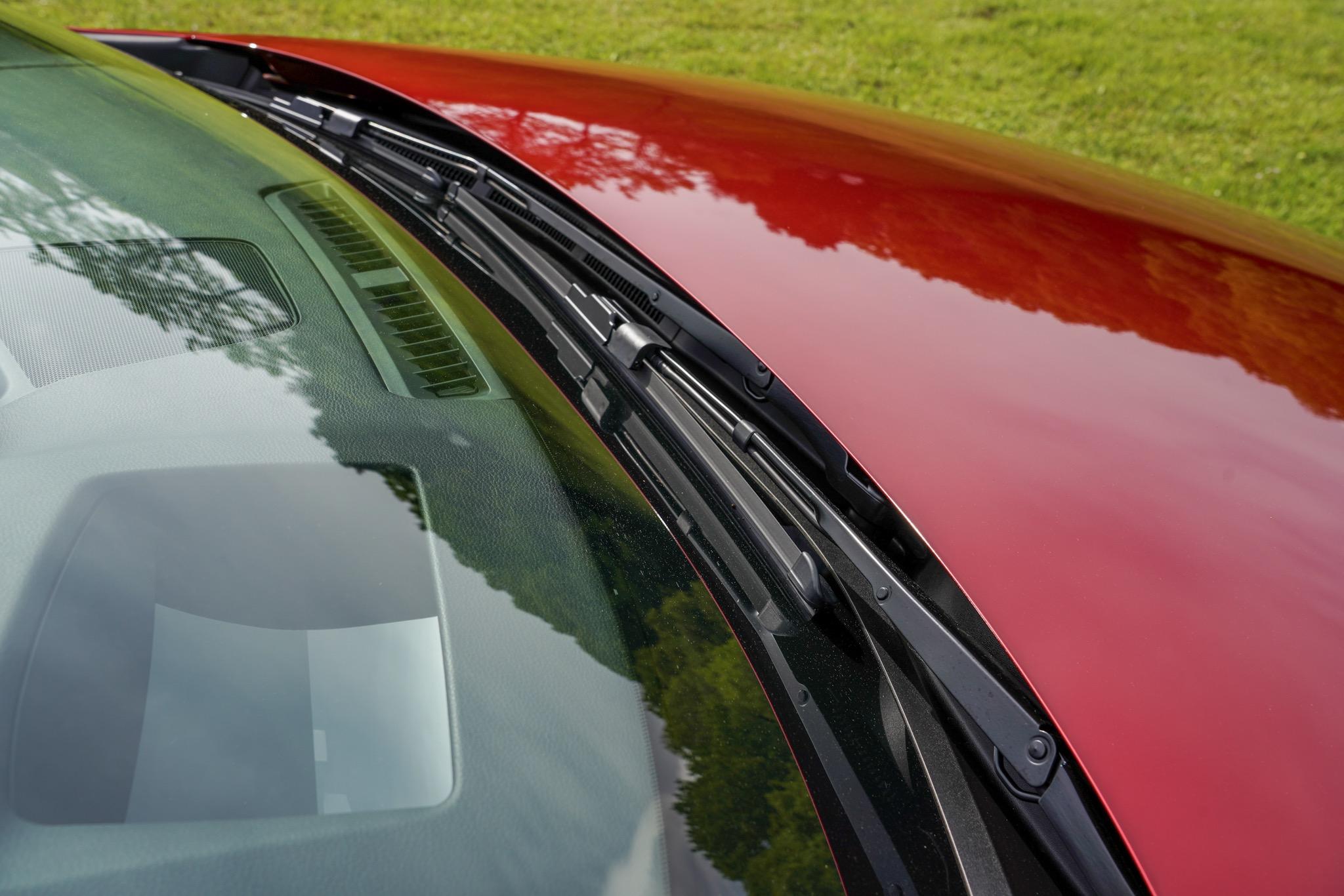 新型Mazda3 ワイパー