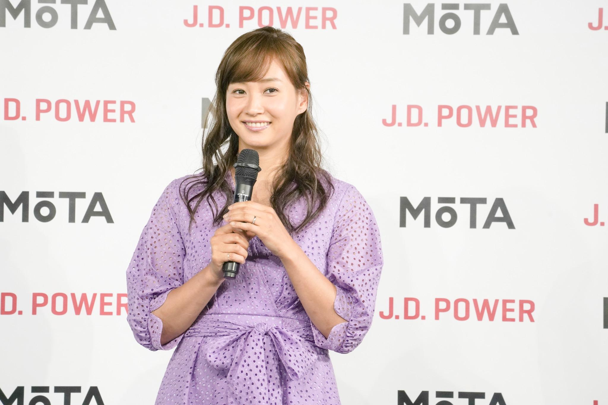 藤本美貴 オートックワン x J.D. パワー