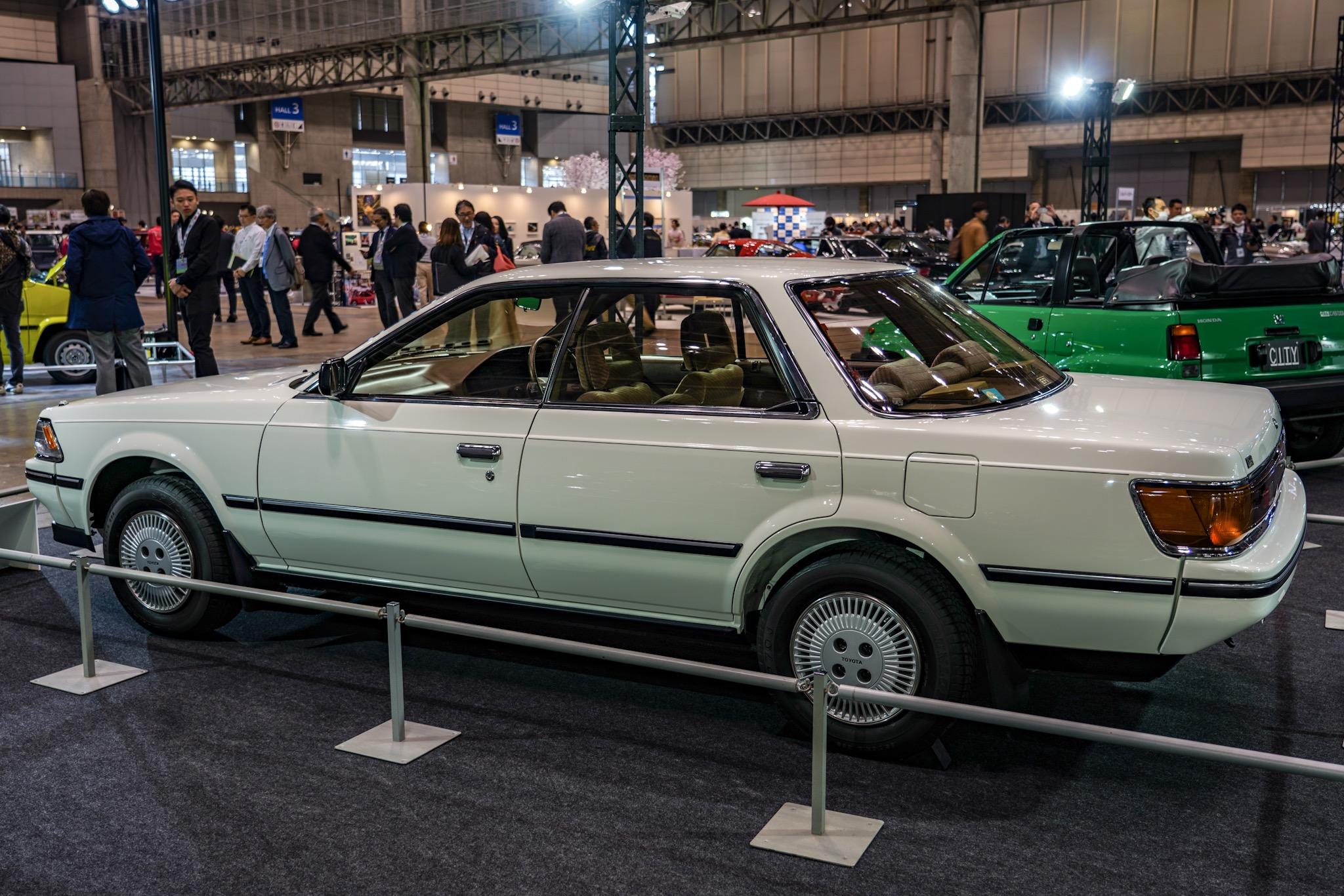 トヨタ カリーナED 初代 ST160型 オートモビルカウンシル2019