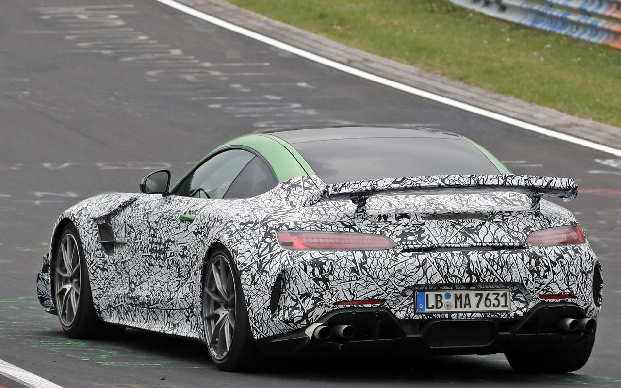 メルセデス 新型AMG GT ブラックシリーズ_2019/04