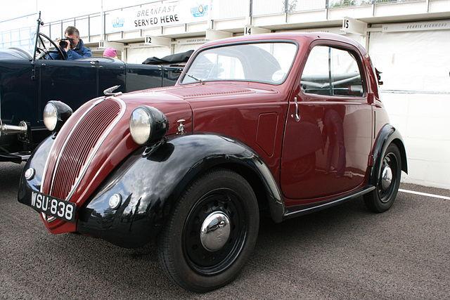 フィアット 500 初代 トポリーノ