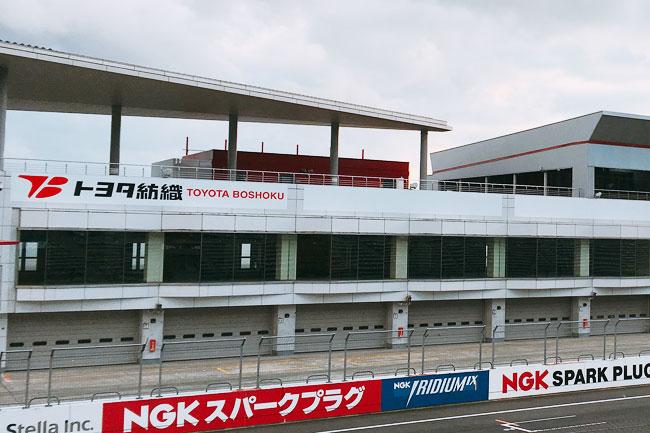 富士スピードウェイ クリスタルルーム 外観