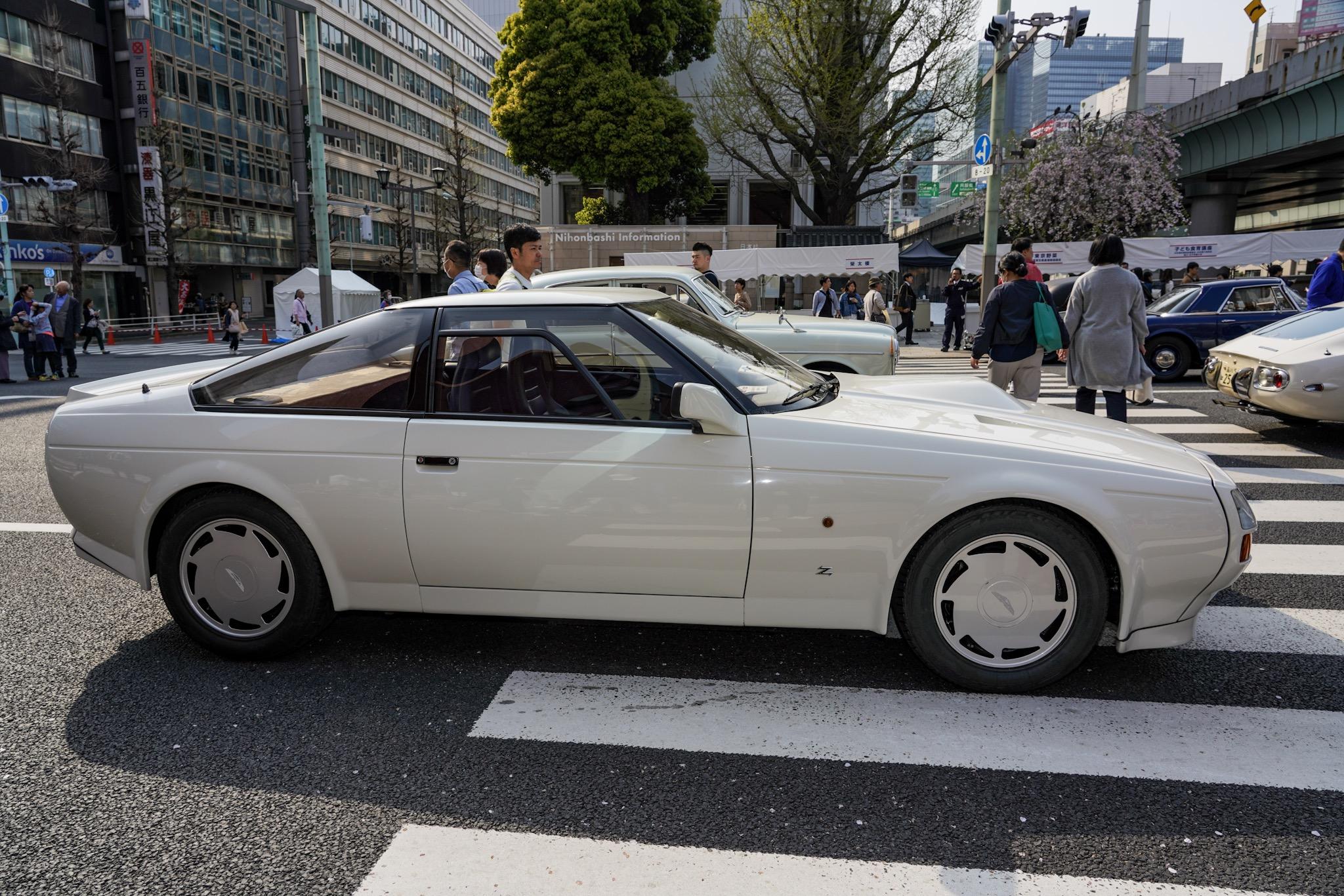 アストンマーティン V8 ヴァンテージ ザガート ジャパン・クラシック・オートモービル2019