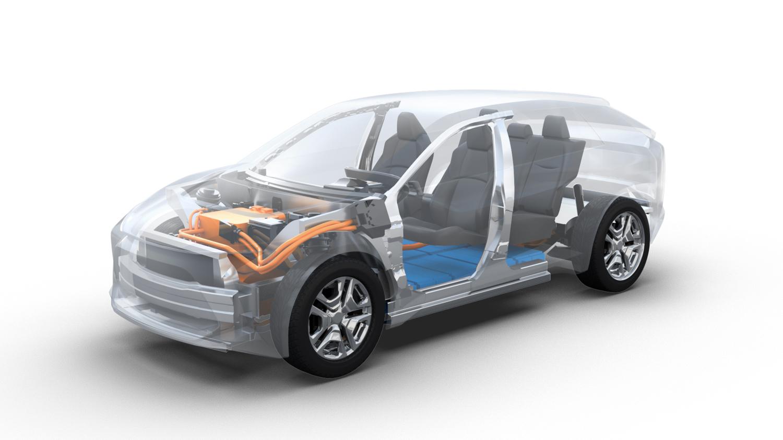 トヨタ スバル SUV