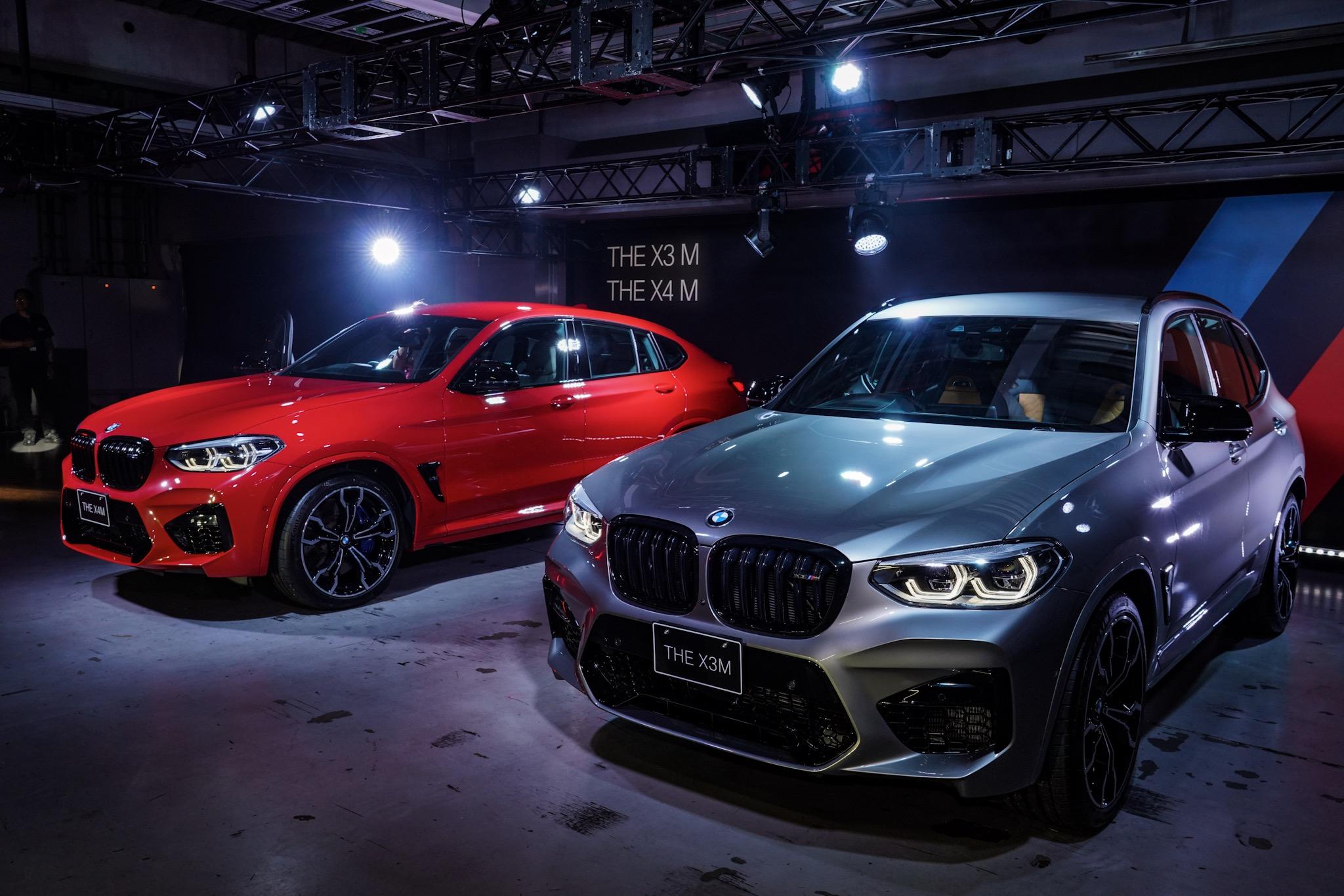 BMW X3 MとX4 M