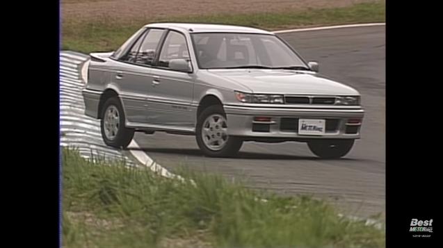 ベストモータリング 平成ドリフトナンバーワン01 三菱 ランサー GSR RS