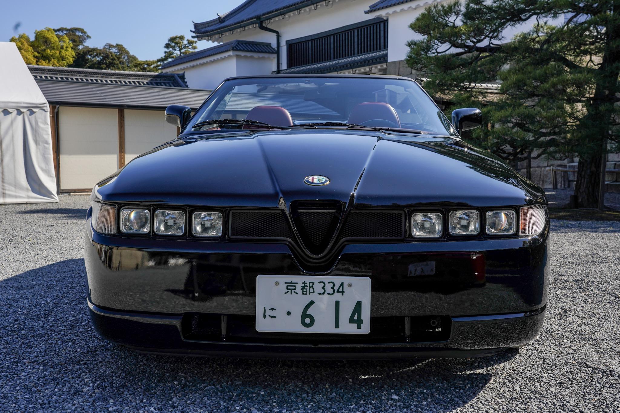 アルファロメオ RZ ザガート コンコルソ・デレガンツァ・京都2019