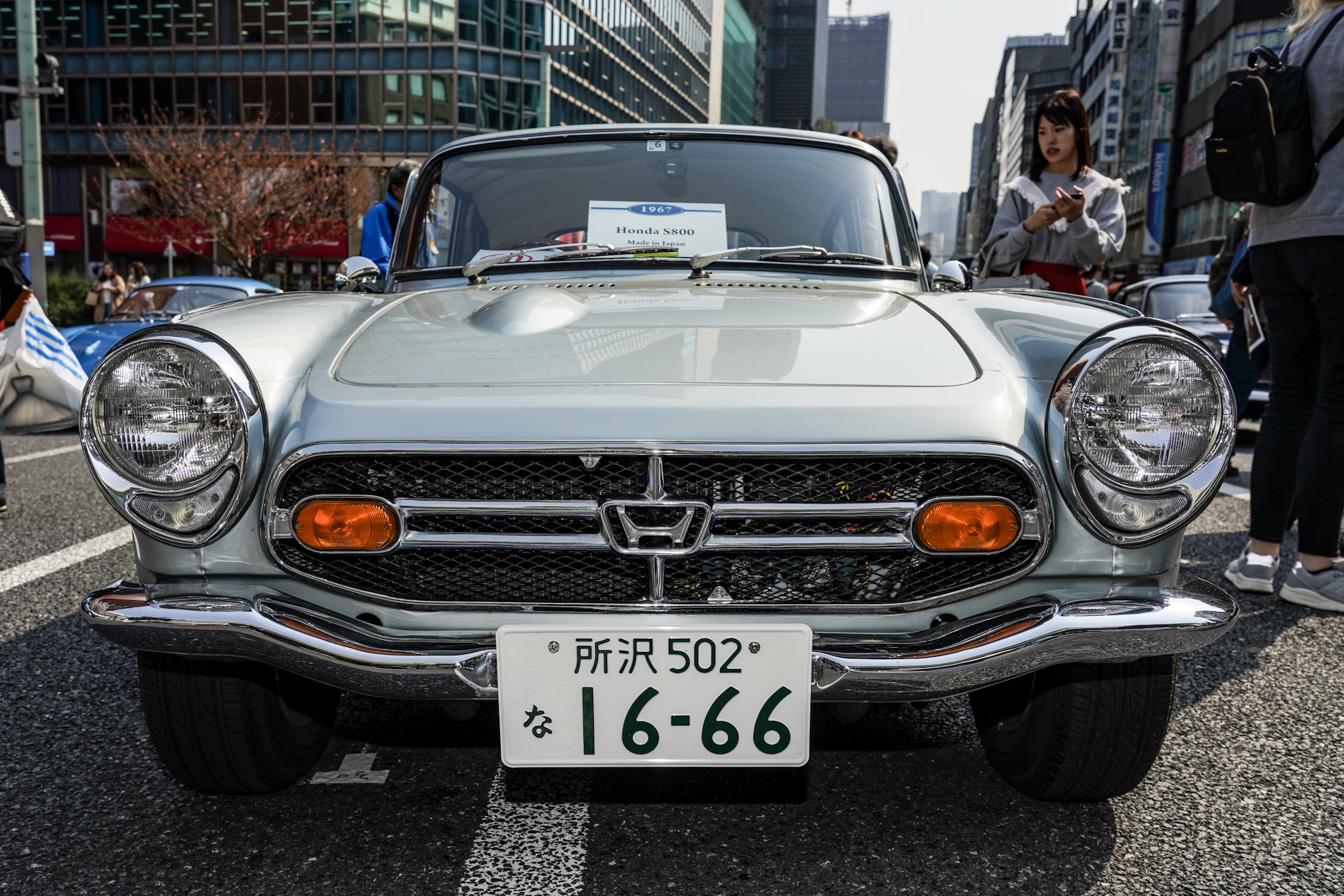 ホンダ S800 ジャパン・クラシック・オートモービル2019